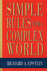 Cover: Simple Rules for a Complex World