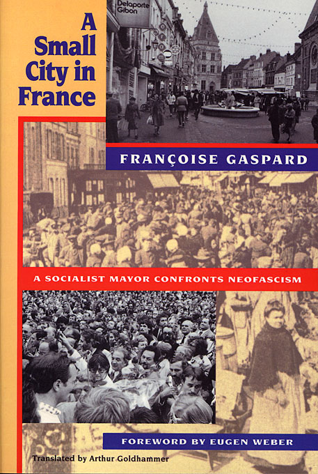 Cover: A Small City in France, from Harvard University Press