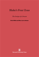Cover: Blake's Four Zoas: The Design of a Dream