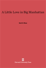 Cover: A Little Love in Big Manhattan: Two Yiddish Poets