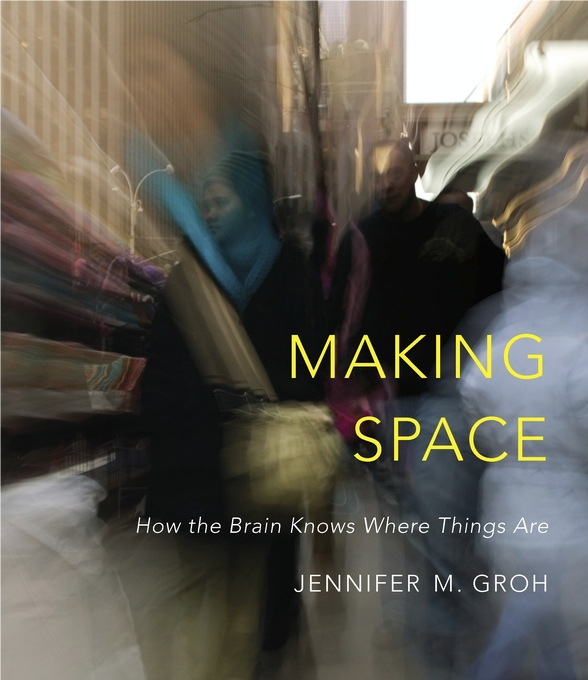 Cover: Making Space: How the Brain Knows Where Things Are, from Harvard University Press