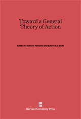 Cover: Toward a General Theory of Action