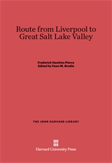 Cover: Route from Liverpool to Great Salt Lake Valley
