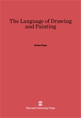 Cover: The Language of Drawing and Painting