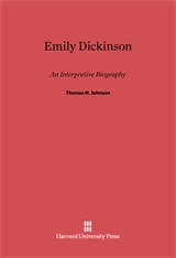 Cover: Emily Dickinson: An Interpretive Biography