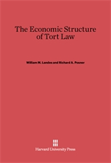 Cover: The Economic Structure of Tort Law