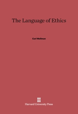 Cover: The Language of Ethics