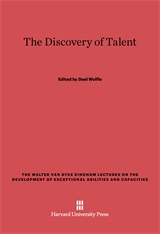 Cover: The Discovery of Talent