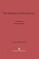 Cover: The Elements of Moral Science in E-DITION