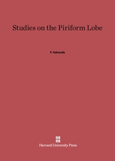 Cover: Studies on the Piriform Lobe