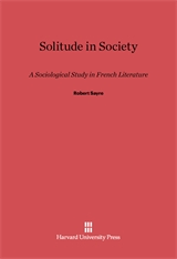 Cover: Solitude in Society in E-DITION