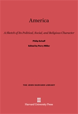 Cover: America: A Sketch of Its Political, Social, and Religious Character