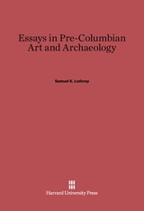 Cover: Essays in Pre-Columbian Art and Archaeology