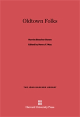Cover: Oldtown Folks