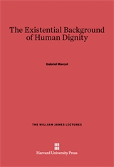 Cover: The Existential Background of Human Dignity