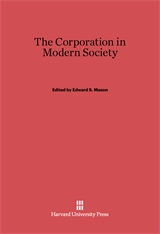 Cover: The Corporation in Modern Society