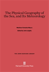 Cover: The Physical Geography of the Sea, and Its Meteorology