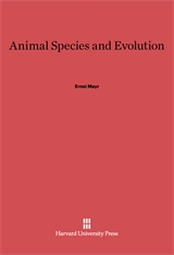 Cover: Animal Species and Evolution