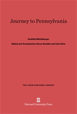 Cover: Journey to Pennsylvania in E-DITION