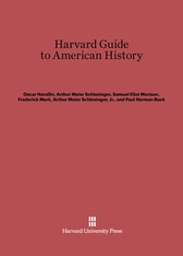 Cover: Harvard Guide to American History
