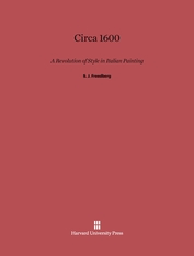 Cover: Circa 1600: A Revolution of Style in Italian Painting