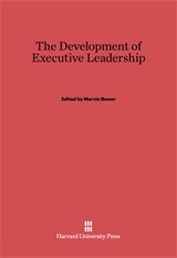 Cover: The Development of Executive Leadership