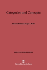 Cover: Categories and Concepts