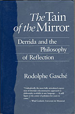 Cover: The Tain of the Mirror: Derrida and the Philosophy of Reflection