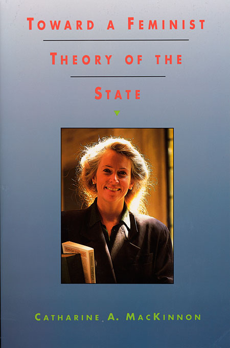 Cover: Toward a Feminist Theory of the State: , from Harvard University Press