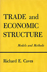 Cover: Trade and Economic Structure: Models and Methods