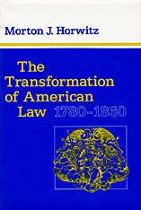 Cover: The Transformation of American Law, 1780–1860 in PAPERBACK