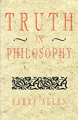 Cover: Truth in Philosophy