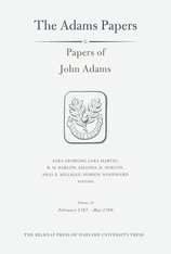 Cover: Papers of John Adams, Volume 19 in HARDCOVER