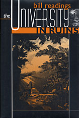 Cover: The University in Ruins in PAPERBACK