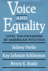 Cover: Voice and Equality: Civic Voluntarism in American Politics