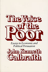 Cover: The Voice of the Poor: Essays in Economic and Political Persuasion