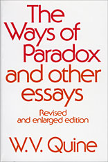 Cover: The Ways of Paradox and Other Essays: Revised and Enlarged Edition