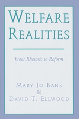 Cover: Welfare Realities: From Rhetoric to Reform