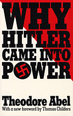 Cover: Why Hitler Came into Power