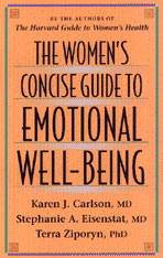 Cover: The Women's Concise Guide to Emotional Well-Being in PAPERBACK
