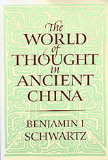 Cover: The World of Thought in Ancient China