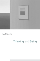 Cover: Thinking and Being in HARDCOVER