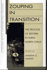 Cover: Zouping in Transition: The Process of Reform in Rural North China