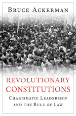 Cover: Revolutionary Constitutions in HARDCOVER