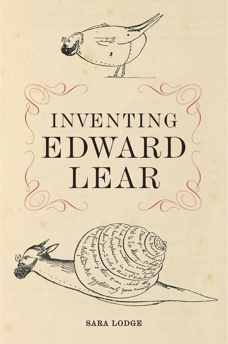 Cover: Inventing Edward Lear, from Harvard University Press