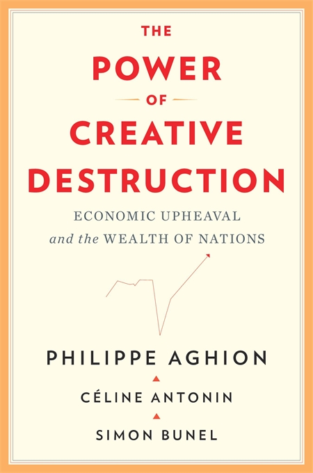 Cover: The Power of Creative Destruction: Economic Upheaval and the Wealth of Nations, from Harvard University Press