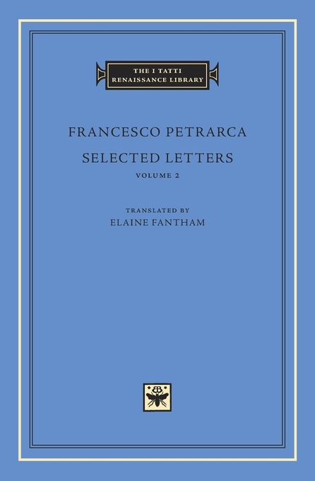 Cover: Selected Letters, Volume 2, from Harvard University Press
