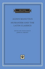 Cover: Humanism and the Latin Classics in HARDCOVER