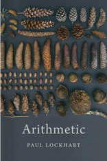 Cover: Arithmetic, by Paul Lockhart, from Harvard University Press