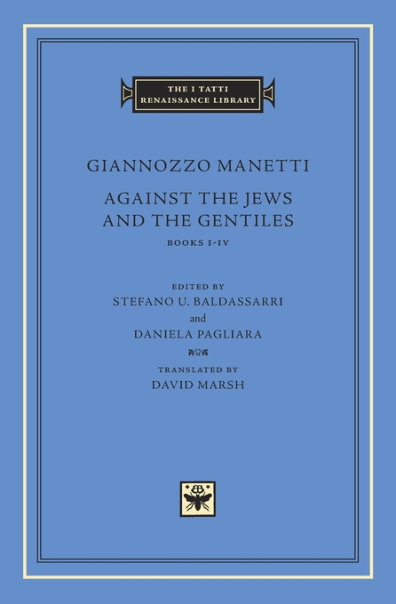 Cover: Against the Jews and the Gentiles: Books I–IV, from Harvard University Press